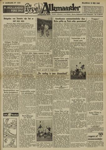 De Vrije Alkmaarder 1949-05-16