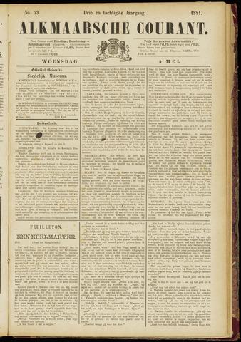 Alkmaarsche Courant 1881-05-04