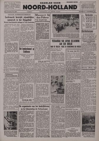 Dagblad Noord-Holland, Schager editie 1942-12-12