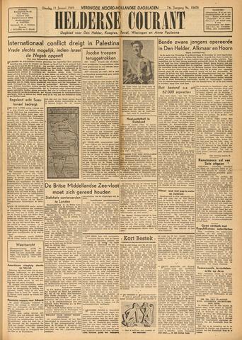 Heldersche Courant 1949-01-11