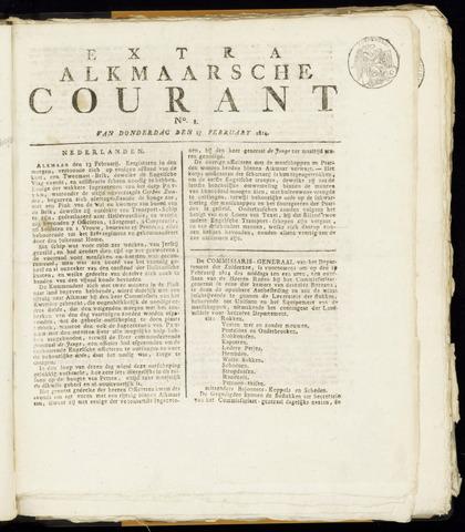 Alkmaarsche Courant 1814-02-17