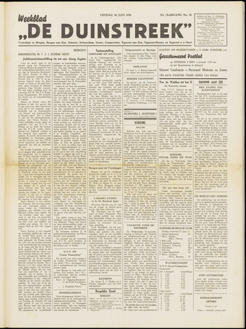 De Duinstreek 1950-06-30