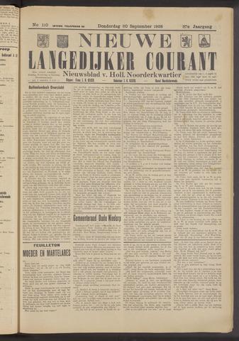 Nieuwe Langedijker Courant 1928-09-20
