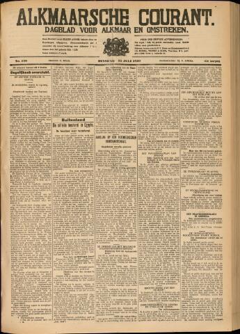 Alkmaarsche Courant 1930-07-22