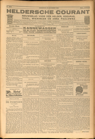Heldersche Courant 1928-11-29