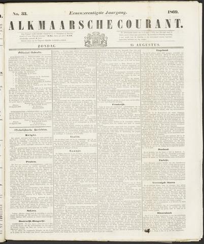 Alkmaarsche Courant 1869-08-15