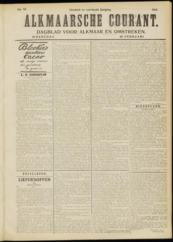 Alkmaarsche Courant 1912-02-28