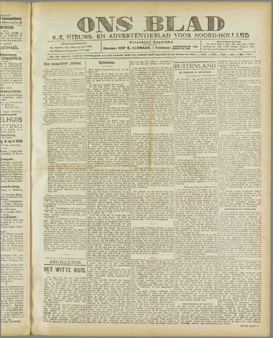Ons Blad : katholiek nieuwsblad voor N-H 1920-04-14