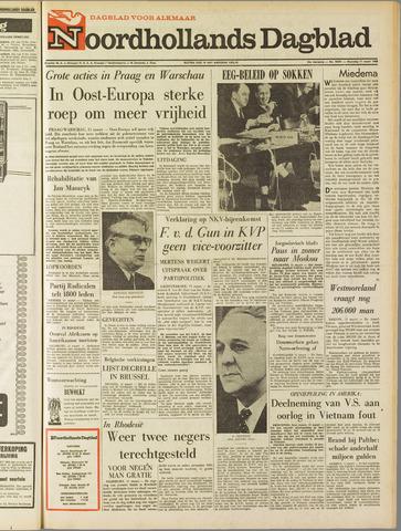 Noordhollands Dagblad : dagblad voor Alkmaar en omgeving 1968-03-11