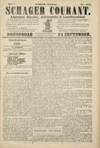 Schager Courant 1874-09-24