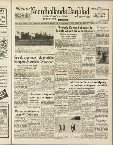 Nieuw Noordhollandsch Dagblad : voor Alkmaar en omgeving 1951-12-12