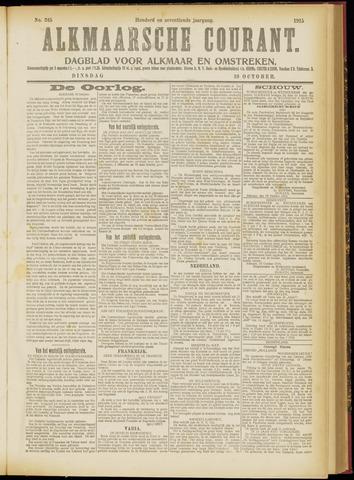 Alkmaarsche Courant 1915-10-19