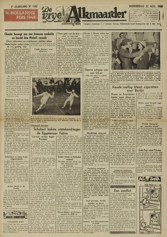 De Vrije Alkmaarder 1948-08-12