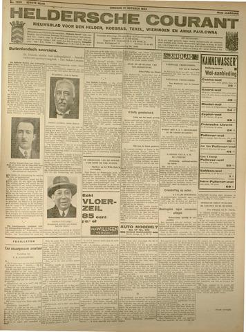 Heldersche Courant 1933-10-10