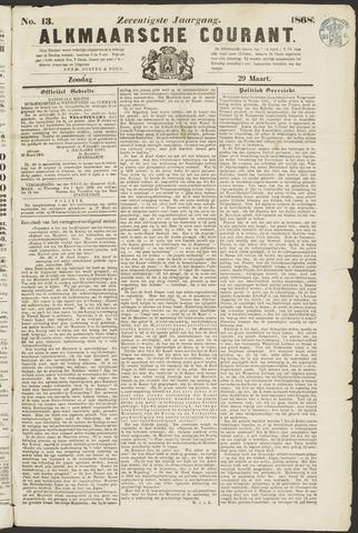 Alkmaarsche Courant 1868-03-29
