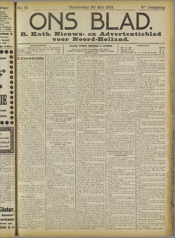 Ons Blad : katholiek nieuwsblad voor N-H 1912-05-30