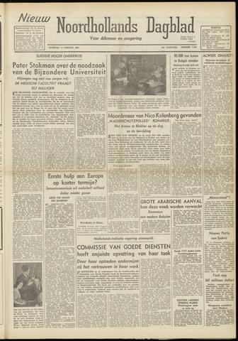 Nieuw Noordhollandsch Dagblad : voor Alkmaar en omgeving 1948-02-14