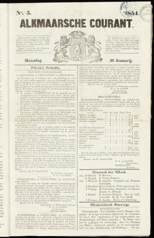 Alkmaarsche Courant 1854-01-30
