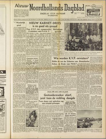 Nieuw Noordhollandsch Dagblad : voor Alkmaar en omgeving 1952-08-16
