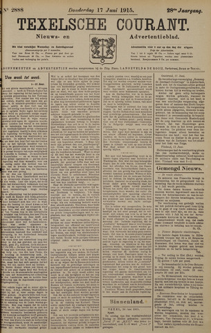 Texelsche Courant 1915-06-17