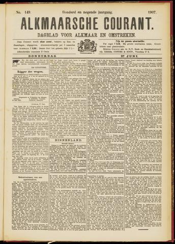 Alkmaarsche Courant 1907-06-27