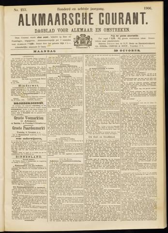 Alkmaarsche Courant 1906-10-29