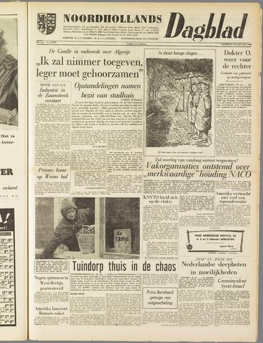 Noordhollands Dagblad : dagblad voor Alkmaar en omgeving 1960-01-30