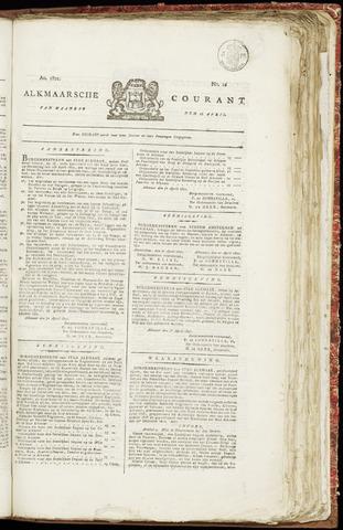 Alkmaarsche Courant 1821-04-16