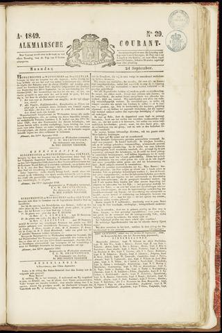 Alkmaarsche Courant 1849-09-24