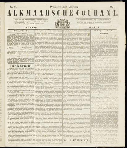 Alkmaarsche Courant 1871-06-11