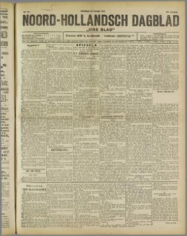 Ons Blad : katholiek nieuwsblad voor N-H 1922-02-25