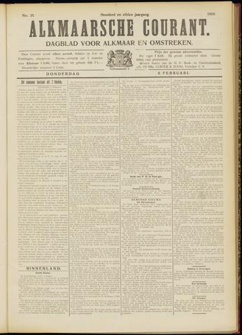 Alkmaarsche Courant 1909-02-11