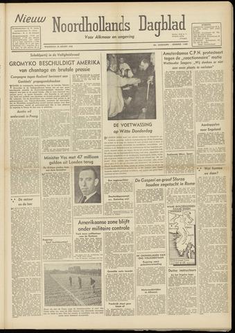 Nieuw Noordhollandsch Dagblad : voor Alkmaar en omgeving 1948-03-24