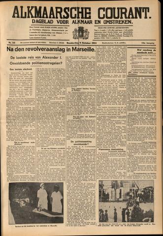 Alkmaarsche Courant 1934-10-11