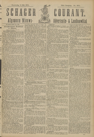Schager Courant 1911-05-11