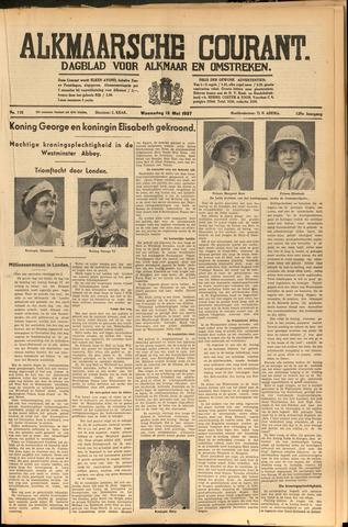 Alkmaarsche Courant 1937-05-12