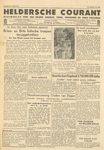 Heldersche Courant 1946-07-15