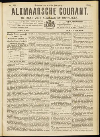 Alkmaarsche Courant 1906-11-16