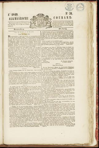 Alkmaarsche Courant 1849-07-30