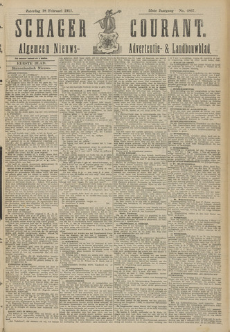 Schager Courant 1911-02-18