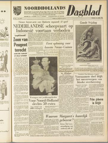 Noordhollands Dagblad : dagblad voor Alkmaar en omgeving 1960-04-15