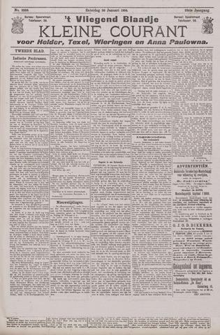 Vliegend blaadje : nieuws- en advertentiebode voor Den Helder 1904-01-30