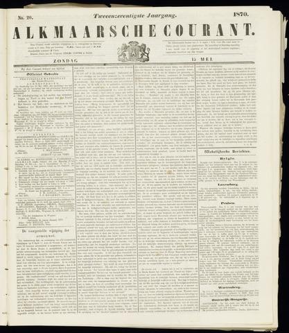 Alkmaarsche Courant 1870-05-15