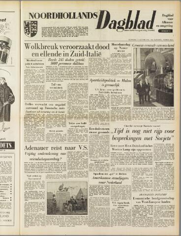 Noordhollands Dagblad : dagblad voor Alkmaar en omgeving 1954-10-27