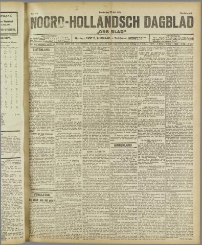Ons Blad : katholiek nieuwsblad voor N-H 1922-07-27