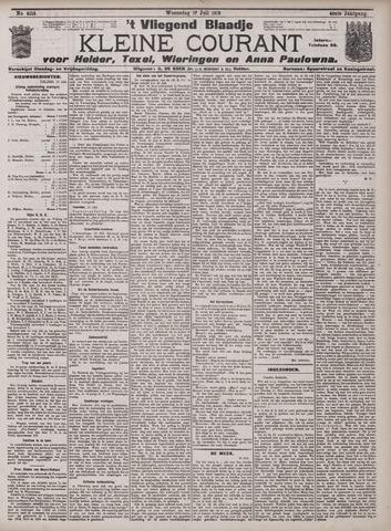 Vliegend blaadje : nieuws- en advertentiebode voor Den Helder 1912-07-17