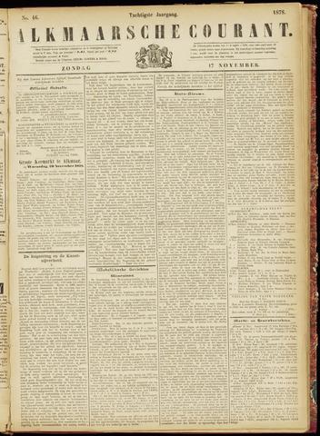 Alkmaarsche Courant 1878-11-17