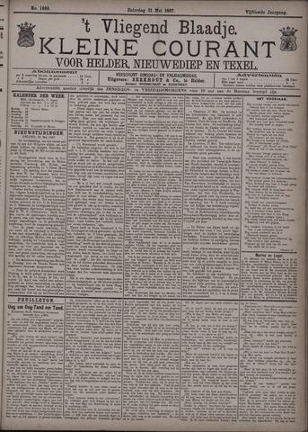 Vliegend blaadje : nieuws- en advertentiebode voor Den Helder 1887-05-21