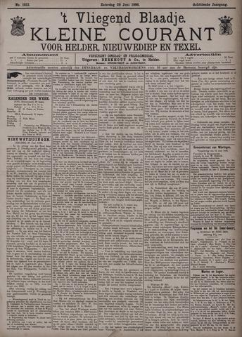 Vliegend blaadje : nieuws- en advertentiebode voor Den Helder 1890-06-28