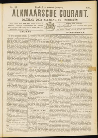 Alkmaarsche Courant 1905-11-24